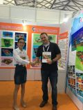 Germany client Tom make order with us in the ASIAN ATTRACTED EXPO 2016
