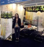 We are in the Hongkong International Printing & Packaging Fair
