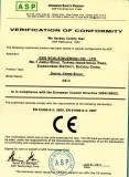 CE Certificate for Crane Scale