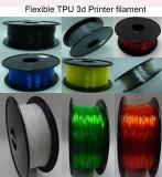 9 transparency color flexible TPU 3d printer filament