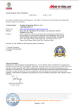 Steel Certificate
