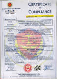 CE certificate of rotary oven