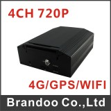New products on line-4CH 720P HD CAR DVR