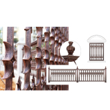Modern Aluminum Garden Fence