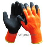 Acrylic Liner Palm Coated Latex Winter Work Glove
