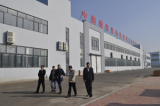 customers visiting our factory