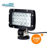 "7"" 24W 2900lum LED Auto Truck Vehicle Work Headlight SM6245"