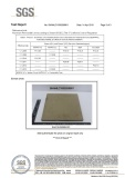 CARB 2 HDF Laminated flooring SGS test report