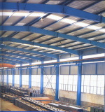 company steel structure material workshop