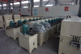 hydraulic device of filter press in workshop