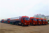 30 units of aluminum alloy tank semi trailer exported to Egypt