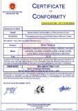 CE certificate-Camper trailer
