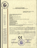 CE Certificate for IGV