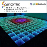 3D infinite led dance floor