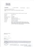 SGS pu hose testing report