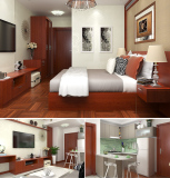 Bangladesh Dhaka 4 Star Hotel Kitchens & Doors Project