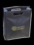 Hand-made nonwoven box bag