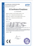 Our CE Certificate