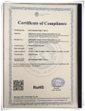ROHS Certificate of wire test machine
