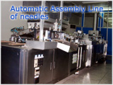 Automatic Assembly Line of Needle