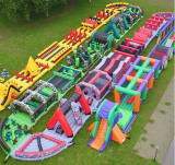 Hot ! inflatable 5k obstacle course for sale
