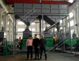 Italian Customer-TSC3000 Tire Recycling Plant