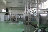 milk plant installation