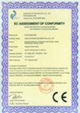 CE certificte for shearing machine