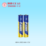 1.5V High Capacity Farer Super Alkaline Dry Battery (LR03 AAA, Am-4)