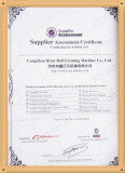 BV Agreement Manufacture