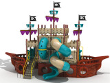 hotsale pirate ship outdoor playground equipment (TY-9070B)