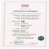 CE of Centrifugal Pump