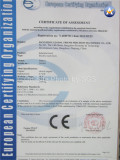 CE Certificate of Forklift
