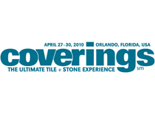 Coverings 2010,Orlando,USA From April 27-30, 2010