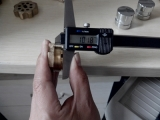 Dimension Inspection by callipers