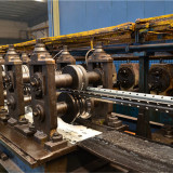 upright roll forming line