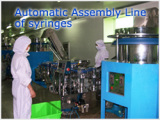 Automatic Assembly Line of Syringe