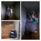 3 ton battery forklift shipment