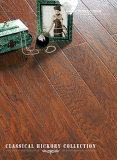 U groove Hickory HDF Laminated Flooring Embossed-in-Register(EIR)