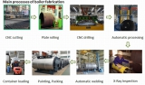 production process of horizontal steam boiler