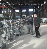Hydraulic oil expeller press making machine