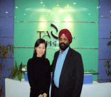 Customer from India with Shalley Xiong(General Manager)-1