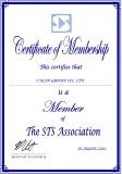 STS member Certificate