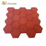 Hexagon Rubber Tiles for Play area