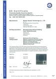 CE certificate class 1