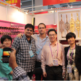 India client show great interest in our cast aluminum balustrades