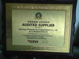 audited supplier certification