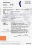 HBE-10038 SGS Certificate