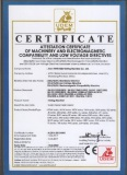 TIME New CE certificate