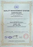 ISO9001 certificate for motorcycle